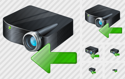 Icone Projector Black Import