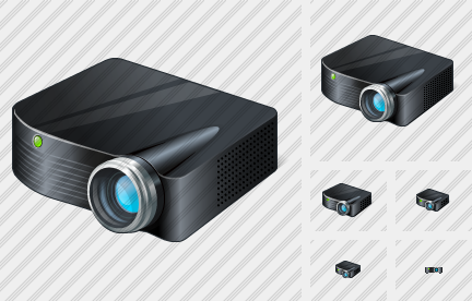 Icone Projector Black