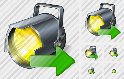 Projector Export Icon