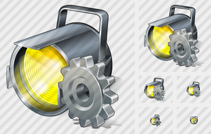 Projector Settings Icon