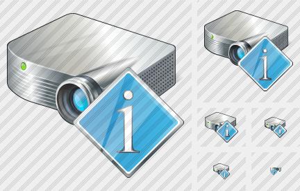 Projector White Info Icon