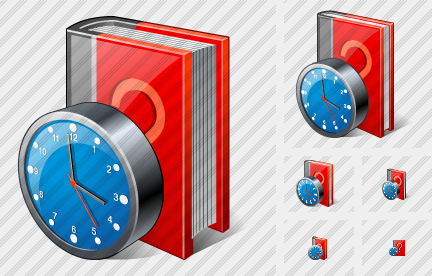 Icone Question Book Clock