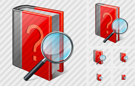 Question Book Search 2 Icon