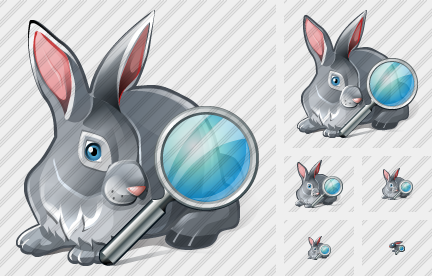 Icone Rabbit Search