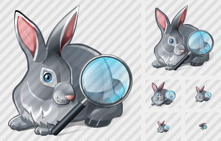 Rabbit Search 2 Icon