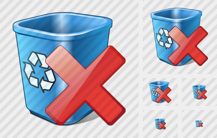 Recycle Bin Delete Icon