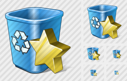 Recycle Bin Favorite Icon