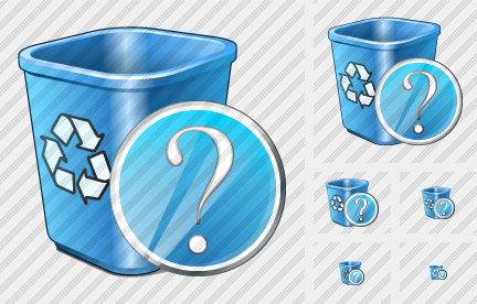 Recycle Bin Question Icon
