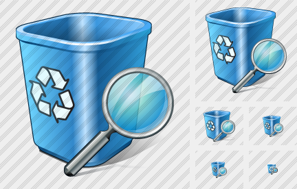 Recycle Bin Search Icon
