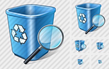 Recycle Bin Search 2 Icon