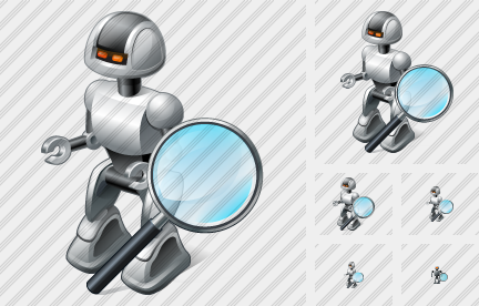 Icone Robot Search2