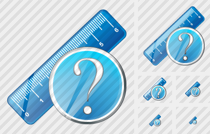 Ruler Question Icon