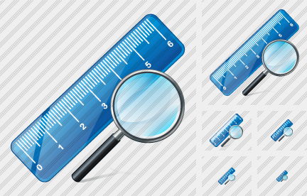 Ruler Search 2 Icon