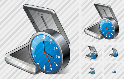 Scaner Clock Icon