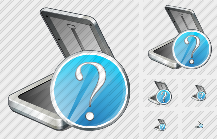 Scaner Question Icon
