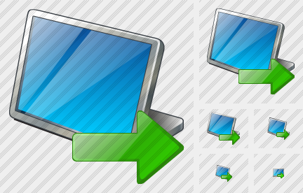 Screen Export Icon