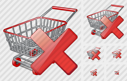 Shopping Delete Icon