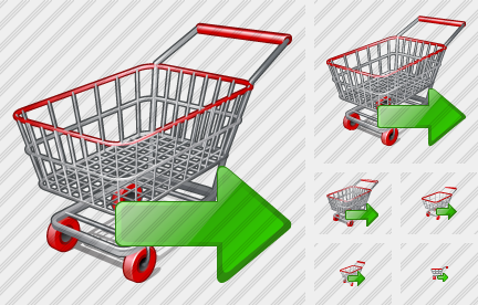 Shopping Export Icon