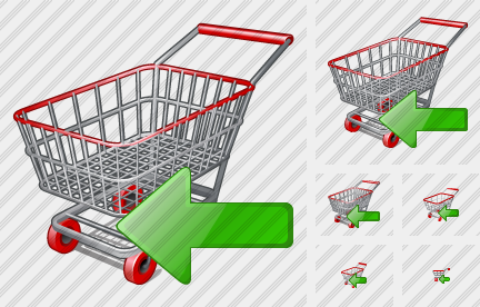 Shopping Import Icon