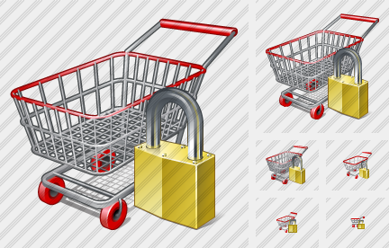 Shopping Locked Icon