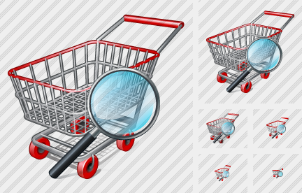 Shopping Search 2 Icon