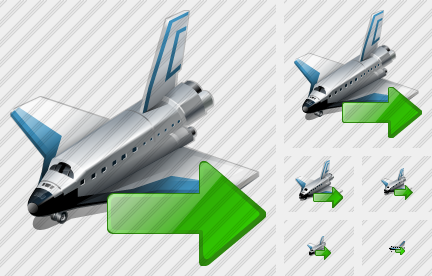 Shuttle Export Icon