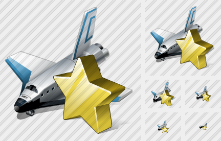 Shuttle Favorite Icon