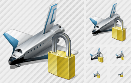 Shuttle Locked Icon