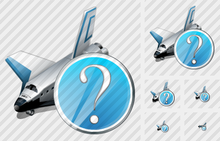 Shuttle Question Icon