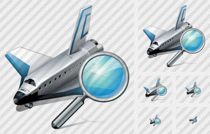Shuttle Search Icon