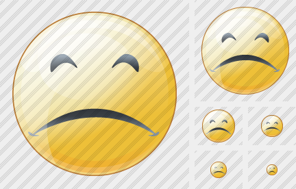 Smile Sad Icon