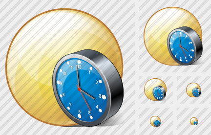 Icone Sphere Clock