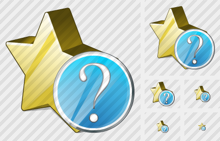 Star Question Icon