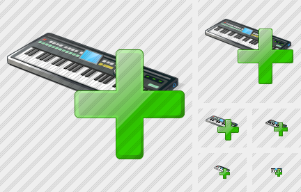 Synthesizer Add Icon