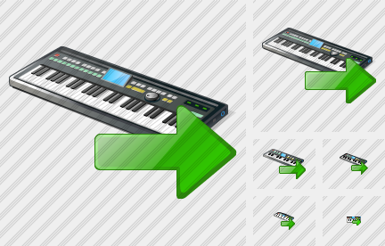Synthesizer Export Icon