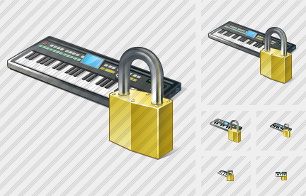 Synthesizer Locked Icon
