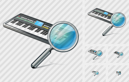 Synthesizer Search Icon