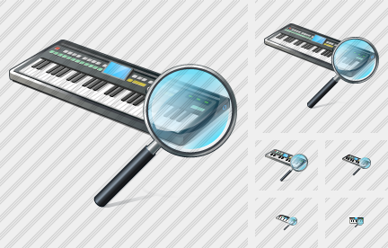 Synthesizer Search 2 Icon