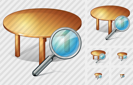 Table Search Icon