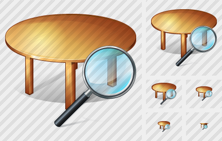 Table Search 2 Icon