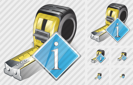 Tape Measure Info Icon