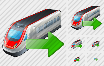 Train Export Icon