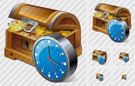Treasure Clock Icon