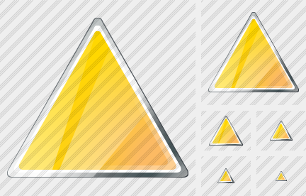 Triangle Yellow Icon