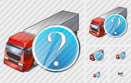 Truck Question Icon