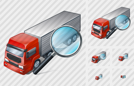 Truck Search 2 Icon