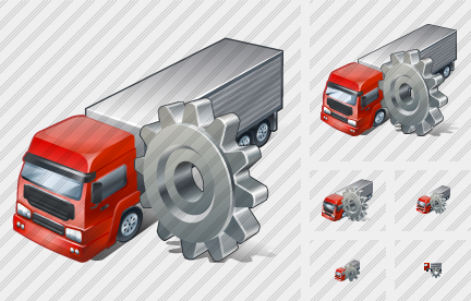 Truck Settings Icon