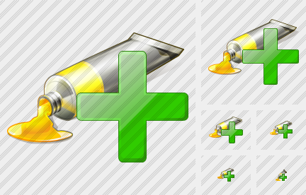 Icone Tube Paint Add
