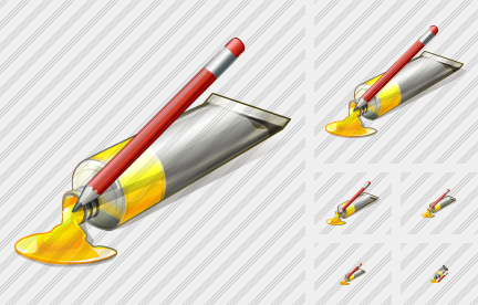 Icone Tube Paint Edit
