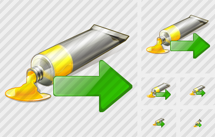 Icone Tube Paint Export